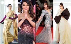 Cannes 2019: रेड कारपेट पर भारतीय एक्ट्रेस का जलवा, मुड़ मुड़ देख रहे लोग