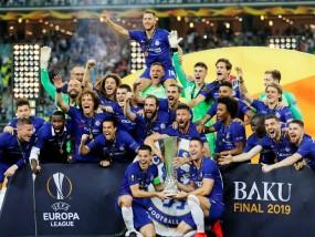 Europa League : चेल्सी ने फाइनल में आर्सेनल को 4-1 से हराया, छह साल बाद जीता खिताब