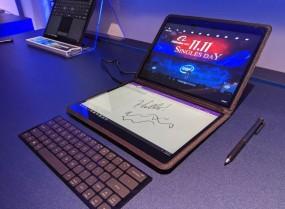 Intel ने पेश किया डुअल स्क्रीन लैपटॉप, ऊपर- नीचे है फुल टचस्क्रीन डिस्प्ले
