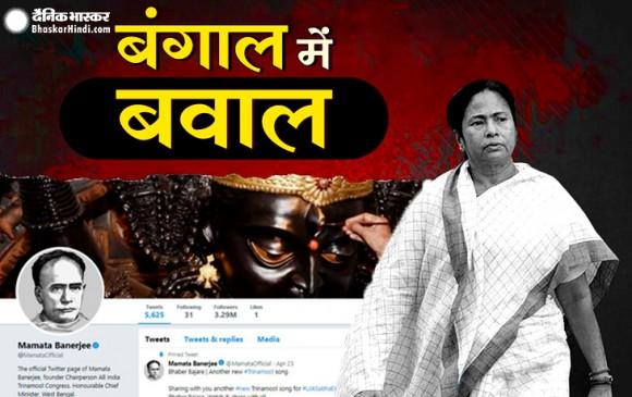 TMC नेताओं ने ट्विटर पर लगाई विद्यासागर की फोटो, BJP पर मूर्ति तोड़ने का आरोप