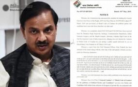 केंद्रीय मंत्री महेश शर्मा को EC का नोटिस, राहुल- प्रियंका पर की थी टिप्पणी