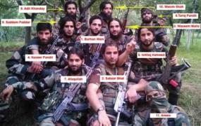 जम्मू-कश्मीर: बुरहान वानी का पूरा गैंग साफ, मारा गया आखिरी कमांडर लतीफ