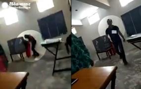 फरीदाबाद में बूथ कैप्चरिंग का वीडियो वायरल, पोलिंग एजेंट गिरफ्तार