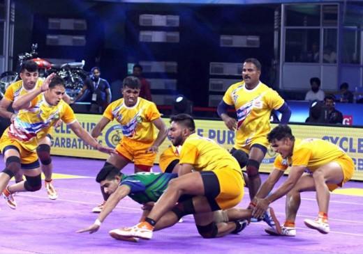 IIPKL 2019 : पुणे प्राइड ने तेलुगू बुल्स को 42-28 से हराया, जोन-ए में टॉप पर