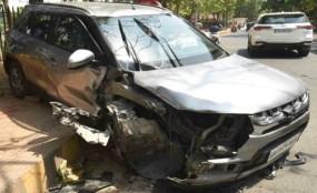 पटना: आरजेडी नेता तेज प्रताप की कार दुर्घटनाग्रस्त, पैर में लगी चोट