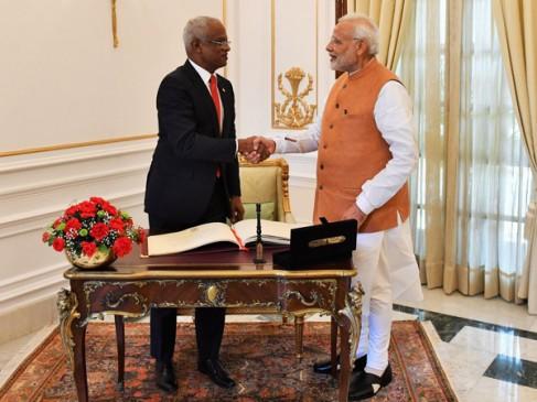 मालदीव ने किया प्रधानमंत्री नरेन्द्र मोदी को आमंत्रित, संसद में देंगे भाषण
