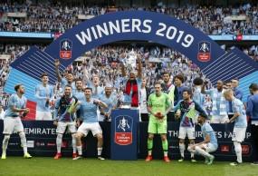 FA Cup 2019: मैनचेस्टर सिटी ने वॉटफर्ड को 6-0 से हराकर जीता छठवां खिताब