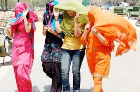 24 घंटे में 2.3 डिग्री उछला पारा, नागपुर में तापमान 44 डिग्री पार