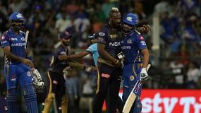 IPL : रोहित की जबरदस्त बैटिंग, मुंबई 9 विकेट से जीता, IPL से बाहर हुई कोलकाता की टीम