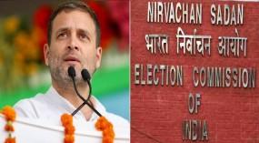 राहुल ने EC पर साधा निशाना, कहा- 'मोदी के समक्ष समर्पण जाहिर'