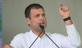 राहुल का संदेश- एग्जिट पोल से निराश न हों कार्यकर्ता, मेहनत बेकार नहीं जाएगी
