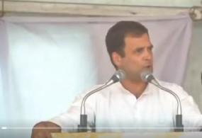 हरियाणा में राहुल की ललकार, कहा -PM मोदी ने देश को धोखा दिया