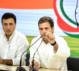 राहुल ने उड़ाया पीएम की प्रेस कॉन्फ्रेंस का मजाक, बोले - बहुत बढ़िया!