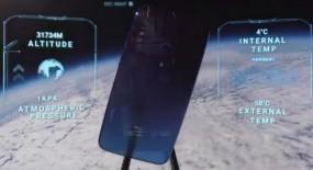 Redmi Note 7 को भेजा अंतरिक्ष, पृथ्वी की फोटो क्लिक कर लौटा