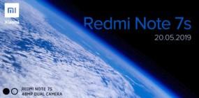 20 मई को भारत में लॉन्च होगा Redmi Note 7S, मिलेगा 48 मेगापिक्सल कैमरा