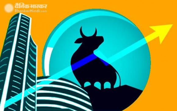 शेयर बाजार तेजी के साथ बंद, सेंसेक्स 623.33 और निफ्टी 187.10 अंक उछला