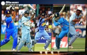 वर्ल्ड कप में भारत के लिए सबसे ज्यादा रन बनाने वाले टॉप-5 बल्लेबाज