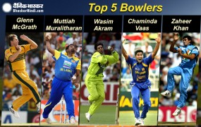 वर्ल्ड कप के इतिहास में सबसे ज्यादा विकेट लेने वाले टॉप-5 गेंदबाज