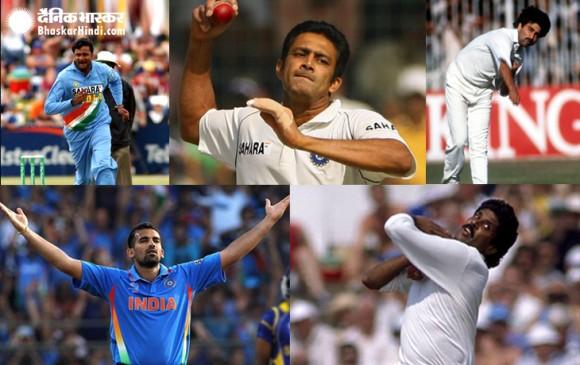 वर्ल्ड कप में भारत के लिए सबसे ज्यादा विकेट लेने वाले टॉप-5 गेंदबाज
