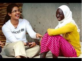 इथियोपिया पहुंची यूनिसेफ ब्रॉन्ड एम्बैसडर प्रियंका चोपड़ा, कर रही ये काम