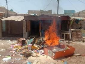 सिंध में हिंदुओं की दुकानें और घर जलाए, ईशनिंदा के जुर्म में हिंदू डॉक्टर गिरफ्तार