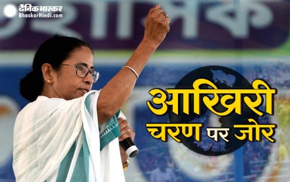 बंगाल विवाद: आज थमेगा चुनाव प्रचार, EC के फैसले के बाद क्या है ममता की नीति
