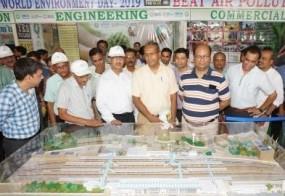 गो-ग्रीन मूवमेंट में जबलपुर रेलवे स्टेशन पर नजर आएगी हरियाली की चादर -स्टेशन के थ्री-डी मॉडल का अनावरण