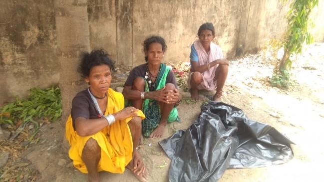 बैगा आदिवासी दो सगी बहिनों की संदिग्ध मौत , अस्पताल में चंदा करके हो सका कफन दफन