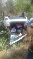 ट्रैक्टर ट्राली पलटने से पिता पुत्र की मौत ,सड़क हादसों में चार की जान गई , 8 घायल