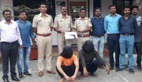 भिवंडी के बार चालक पर कातिलाना हमला करने वाले बदमाश इंदौर से धराए