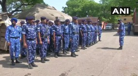 अलीगढ़ मर्डर: न्याय की मांग को लेकर प्रदर्शन, भारी संख्या में सुरक्षा बल तैनात