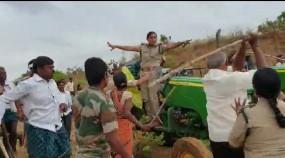 सिरपुर कागजनगर में वन अधिकारियों पर हमला, रेंज ऑफिसर गंभीर रूप से घायल