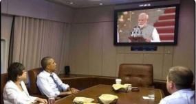 Fake News: पीएम मोदी के शपथग्रहण समारोह को बराक ओबामा ने टीवी पर देखा ?