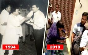 25 साल पहले कैलाश विजयवर्गीय ने ACP पर ताना था जूता, तस्वीर वायरल