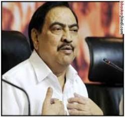 भाजपा नेता खडसे ने फिर सरकार को घेरा, कहा - पांच साल में कुपोषण से सबसे ज्यादा मौतें