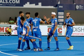 FIH सीरीज फाइनल्स: भारत ने रूस को 10-0 से रौंदा, हरमनप्रीत-आकाशदीप सिंह ने 2-2 गोल दागे
