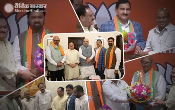 TDP के 4 राज्यसभा सांसद BJP में शामिल, विधायक दल के विलय का प्रस्ताव भी पारित