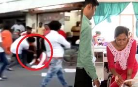 गुजरात: BJP विधायक ने बीच सड़क पर महिला को लात-घूंसों से पीटा, वीडियो वायरल