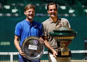 Halle Open 2019: फेडरर ने फाइनल में गोफिन को हराया, रिकॉर्ड 10वीं बार जीता खिताब