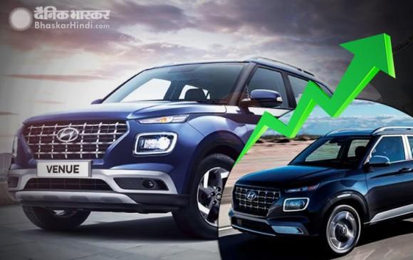Hyundai Venue को शानदार रिस्पॉन्स, XUV300 और Ecosport को पीछे छोड़ा