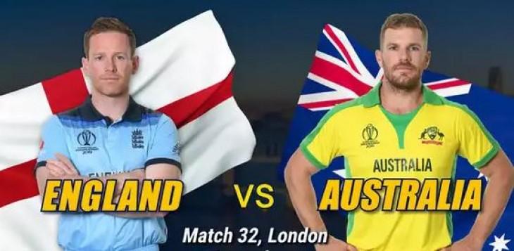 World Cup, 2019 : इंग्लैंड को ऑस्ट्रेलिया ने 64 रनों से हराया, बेहरेनडॉर्फ ने झटके 5 विकेट
