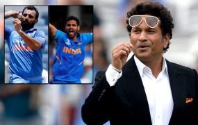 World Cup 2019: सचिन ने कहा- वेस्टइंडीज के खिलाफ मैच में शमी की जगह भुवनेश्वर को खिलाएं