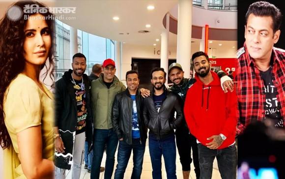 भारतीय टीम ने नॉटिंघम में देखी फिल्म 'भारत', जाधव ने शेयर की तस्वीर