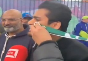 वर्ल्ड कप में हार से निराश पाकिस्तानी प्रशंसक, टीम को खूब सुनाई खरी-खोटी, वीडियो वायरल