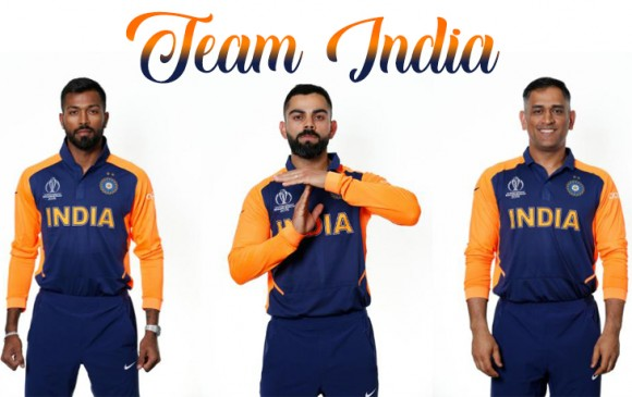 ICC World Cup : रविवार को भगवा किट पहनकर मैदान पर उतरेगी इंडियन टीम