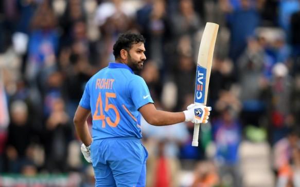 World cup 2019: शतक के मामलों में तीसरे नंबर पर पहुंचे रोहित शर्मा, गांगुली को पछाड़ा