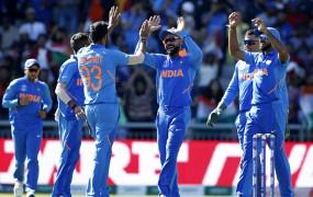 World Cup 2019 : भारत ने विंडीज को 125 रनों से हराया, सेमीफाइनल में जगह लगभग पक्की
