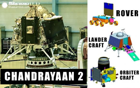 11 साल बाद चंद्रमा की सतह खंगालने की तैयारी, सामने आई चंद्रयान-2 की तस्वीरें