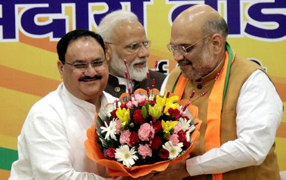 जेपी नड्डा बने BJP के कार्यकारी अध्यक्ष, पार्लियामेंट्री बोर्ड की बैठक में फैसला