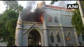 जबलपुर हाईकोर्ट के नार्थ ब्लॉक में आगजनी, एसी में विस्फोट...पुराने फर्नीचर खाक